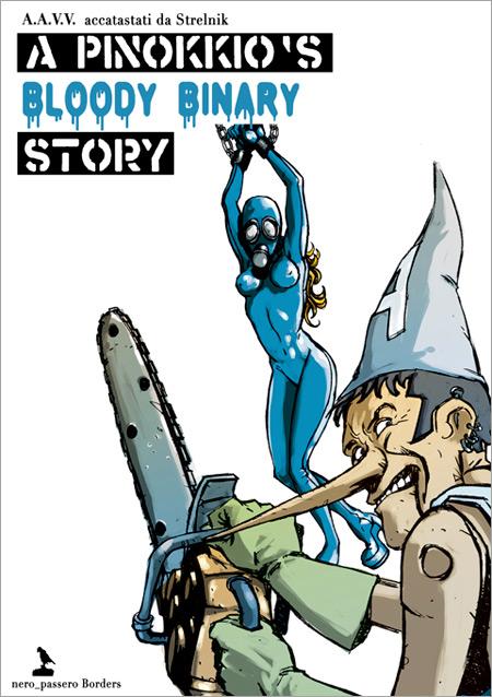 A Pinokkio Bloody Binary Story - La copertina