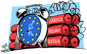 Eurozone debt crisis | Carlos Latuff