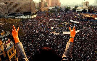 Piazza Tahrir, poesia e rivolta